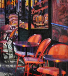 """Café on the Left Bank"" 2011"