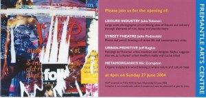 'Street Theatre' at Fremantle Arts Centre, 2004.