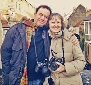 Matthew and Julie in Bruges, December 2013.