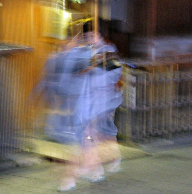 An ephemeral photo of Satomi-san from 2011.