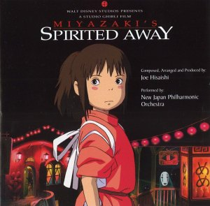 "The cover of my ""Spirited Away"" CD soundtrack."