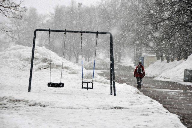 Spring time in Helsinki!  8th April, 2013.