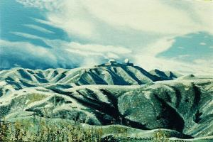 """Hawkins Hill"" oil painting of hills of Wellington."