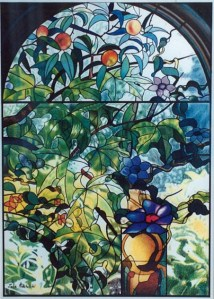 """""""Summer Window"""" 1994, my second colour pencil drawing."""