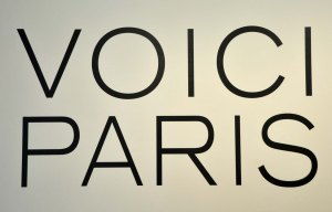 Voici Paris This was the name of an exhibition of photographs at The Pompidou Centre in 2012.