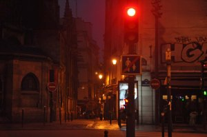 rue du Petit Point before dawn.