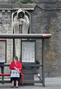 For Whom the Bell Tolls...or...waiting for the bus at London Bridge.