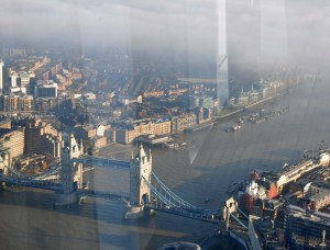Tower Bridge from the Shard.