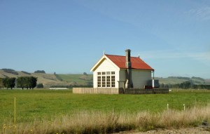 A day or two later we are driving down to the southern coast of the South Island.  This little school was built it 1913.   I couldn't resist a photo as we zoomed past.  I think this is Otahu Flat.