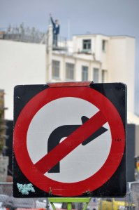 Sometimes it is the traffic sign which inadvertently becomes art.