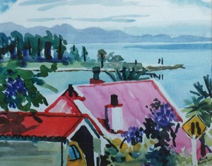 Nelson watercolour 1999