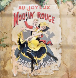 One of my favourite details is this Moulin Rouge poster