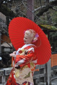 Not everyone who wants to wear kimono is Japanese