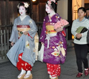 Eriha and Mamekiku with shikomi that evening.