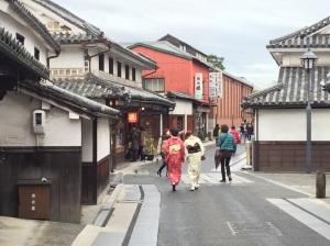 Buildings in the historic area of Kurashiki