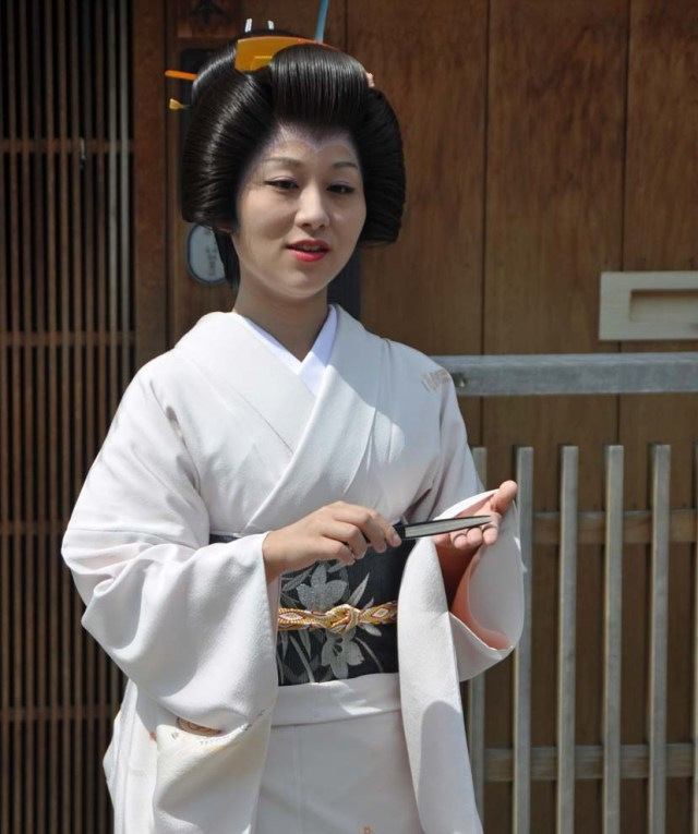 15th September 2015 was second day of Katsutomo-san's Erikae. A few photographers and I accompanied her on another walk.