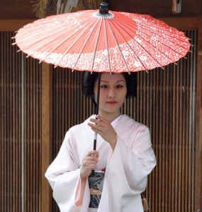 Thank you, Katsutomo-san, for a wonderful two hours. I wish you every success as Geiko-san.