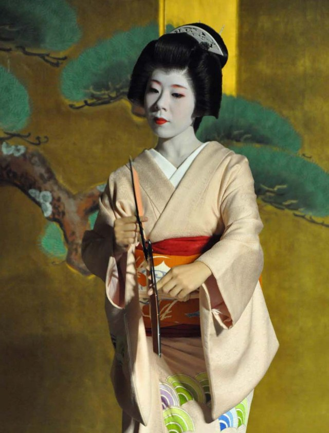 Ryoka is one of the Geiko who will be performing traditional dance in Australia and New Zealand.