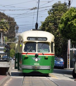At some stage I took a tram - or was it a street-car?