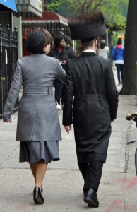 I was entranced by the Hasidic Jews who live in Williamsburg. What marvellous clothes!